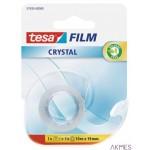 Taśma biurowa TESA FILM cristal 10mx19mm z mini dyspenserem