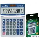 Kalkulator biurowy TR-2213A 1poz.metalowa pokrywa 120-1858 TOOR