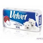 Papier toaletowy VELVET XXL 3-war.biały(8) 153.133