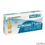 Zszywki 26/6 5000szt.Strong RAPID 24862000