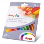 Kredki ołówkowe 24 kol. PENTEL ARTS CB8-24