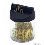 Spinacz złoty-pudełko magnet. 60122 VICTORY 26mm