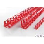 Grzbiety PP 25mm (50) czerwone 4028222 REXEL