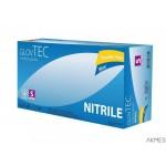 Rekawice nitrylowe BAGSTAR 100 sztuk romiar L niebieskie