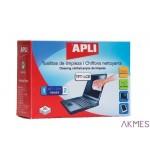 Chusteczki do czyszczenia ekranów APLI (AP11828) 20szt sucha+mokra