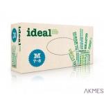 Rękawice lateksowe IDEAL rozmiar S 100 sztuk medyczne (100)