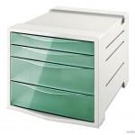 """Pojemnik z szufladami ESSELTE COLOUR""""ICE zielony 626285"""