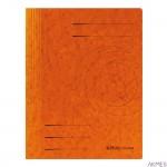 Skoroszyt kartonowy A4 ze sprężynką pomarańczowy 10903029 HERLITZ
