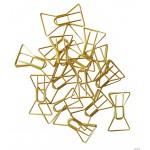 Spinacze do papieru - złote kokardki INCOOD 0070.AR.SPI.000034