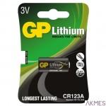 Bateria litowa GP DL123A 3.0V GPPCL123A027