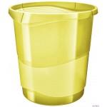 """Kosz na śmieci ESSELTE COLOUR""""ICE żółty 626287"""