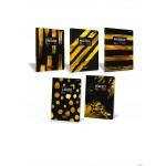 Zeszyt BLACKIE A4 80k 70g kratka 400113920 TOP2000