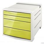 """Pojemnik z szufladami ESSELTE COLOUR""""ICE żółty 626282"""