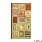 Notes 10x18 80 kartek: kraft, gładki, kremowy, linie INCOOD 0001.AR.NOT.000026