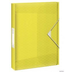 """Teczka z gumką ESSELTE COLOUR""""ICE 30mm żółta 626262"""