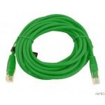 Kabel UTP CAT 5E PATCHCORD 5m zielony EB276G ESPERANZA