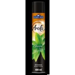 Odświeżacz powietrza AROLA Spray 400ml zielona HERBATA GENERAL FRESH