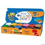 Farby plakatowe 12 kolorów BIC 947715