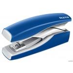 Zszywacz LEITZ New NeXXt Softpress Flat Clinch niebieski 56030035