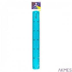 Linijka elastyczna 30cm niebieska SSC011 STRIGO