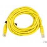 Kabel UTP CAT 5E PATCHCORD 5m żółty EB276Y ESPERANZA