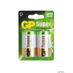 Bateria alkaliczna GP Super D / LR20 (2szt) 1.5V GPPCA13AS005