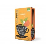 CLIPPER Herbata zielona z aloesem 20 sztuk BIO 40g