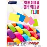 Papier xero A4 100 5kolorów pastel INTERDRUK 6487