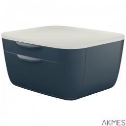 Pojemnik z szufladami Leitz Cosy, szary 53570089