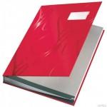 Książka do podpisu Leitz, czerwony