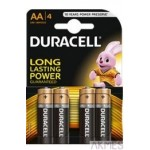 Bateria Basic AA/LR6 K4 (4 szt.)DURACELL