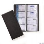 VISIFIX 192, album na 192 wizytówki Czarny 24 0201 DURABLE