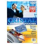 Folia lamin.60*95mm 150mic(100 STANDARD błysk ARGO 326015