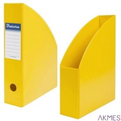 Pojemnik na czasopisma DOTTS A4 7cm żółty PCV (SD-35)