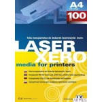 Folia do drukarek laserowych i kserokopiarek (100) LX A3 transparentna 100 mic. Argo