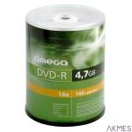 Płyta OMEGA DVD-R 4,7GB 16X CAKE (50) OMD1650-
