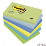 Bloczek samoprzylepny POST-IT_ (655-MTDR), 127x76mm, 6x100 kart., paleta marzycielska