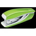 Zszywacz Mini metalowy Leitz WOW, zielony, 10 lat gwarancji, 10 kartek 55281054