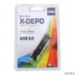 Pendrive USB 3.0 X-DEPO 128GB Platinet PMFU3128X