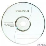 Płyta OMEGA CD-R 700MB 52X CAKE (50) OM50