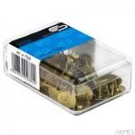 Pinezka złota 100sztuk E&D PLASTIC