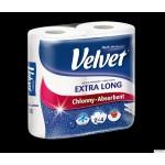 Ręcznik Velvet Extra Long Biały 2 rolki