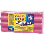 Plastelina LUZEM ASTRA(1kg)róż 83814926/303111007