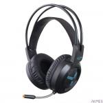 Słuchawki stereo z mikrofonem czarne GAMING ASGARD EGH410