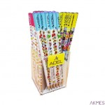 Ołówek ADEL literki HB mix kolor