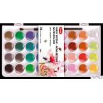 Farbki wodne paleta 36 kolorów