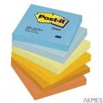 Bloczek samoprzylepny POST-IT_ (654-TFEN), 76x76mm, 6x100 kart., paleta energetyczna