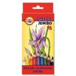 Kredki Omega Jumbo 3373-18 kolorów Koh-i-Noor