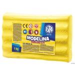 Modelina 1kg żółta ASTRA 304111011