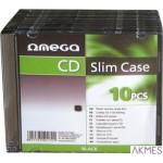 Pudełko na 1 CD SLIM CASE (10szt) 40172 OMEGA